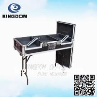 Professional CDJ+DJM cover Box with folding stand ,Custom DJ case,Portable Pulley DJ Box for CJD1000+DJM1000