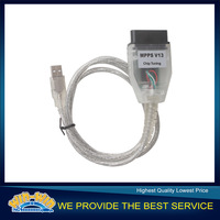 Low!!!!SMPS MPPS K CAN V13.02 CAN Flasher ChipTuning ECU Remap OBD2 Cable freeshipping