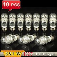 Free Ship, E27 3W White/Warm White Energy Saving LED Candle Light Bulb 85-265V