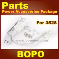 LED strip power plug for SMD3528 high voltage led flexible strip