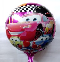 "18""  Car Helium balloons Kids birthday party supplies Inflatable toys for children games 10pcs/lot"