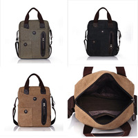 2013 canvas bags  shoulder bag messenger bag casual handbag bag messenger bag man fashion bag