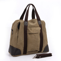 male canvas shoulder 2013 fashion handbag men messenger bag cross-body bag casual bag