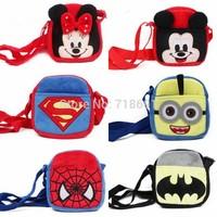 In Stock! Children Cartoon Bags, Cutie animal girls handbags character messenger bags kid RETAIL