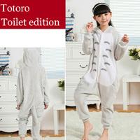 Totoro Flannel Children's Pajamas Anime Cosplay Costumes Pijama Infantil Sleepwear Kids Christmas Pajamas Sets For Girls Boys