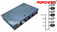 9CH 120w12v10a power supply box for security camera system, CE/RoHS/FCC/IEC & 2-year warranty