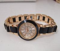holiday sale Luxury Brand rose gold tone watches women ladies fashion dress High quality quartz wristwatches TW016