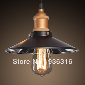 Free shipping American style antique loft lamp cover balcony lamp mirror pendant light edson bulb lamp e27 40w