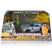 NEW Collection for Robot Human Alliance Rare Set Autobot Jazz Captain Lennox MISB Unopened US version