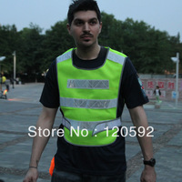 Free shipping!Reflective vest reflective safety vest vest traffic construction sanitation can print fluorescent warning clothing
