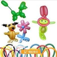 Free shopping 100pcs/bag Variety Magic Balloon DIY balloon long Christmas holidays