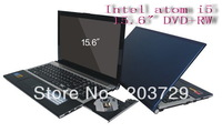 "New arrival 15.6"" dual-core i5 laptop with i5-3317U 1.7Ghz CPU,2G ram&320GB HDD &SSD32GB 2.0MP Webcam,HDMI Bluetooth"