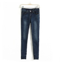 Women Skinny Jeans Lady Fashion Denim Pants, TW1069-E02