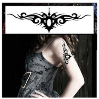 Free shipping! New instant waterproof temporary tattoo stickers flower paint printed, long last 5-7days, 3pcs/pack YM-G029