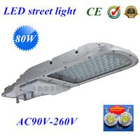 4 pcs/lot 80W led street light outdoor IP65 130lm/w Epistar LED led street lamp 3 years warranty 85-265V street lights