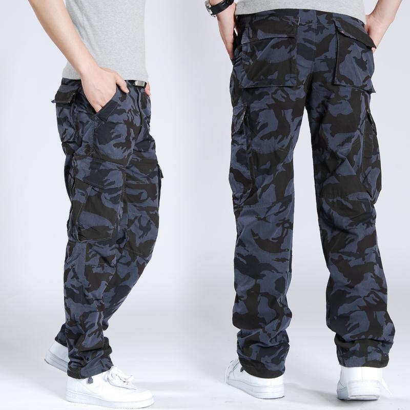 White Camo Cargo Pants Blue Digital Camo Cargo Pants