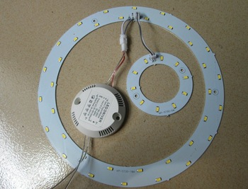Factory Price Good Quality 23W Round LED Panel For Ceiling Home.Magnetic LED Circuit Circle Panel Board with Magnets Free Ship