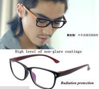Free shipping! Hot sale glasses, Fashion High Quality eyewear women eye glasses frame vintage men clear lens black eyeglasses