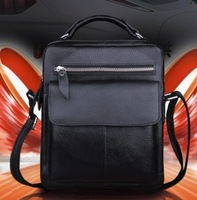 First layer of cowhide male shoulder bag casual bag the trend genuine leather messenger bag handbag