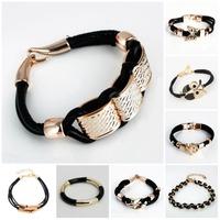 women bracelet new 2014 gold silver men jewelry bracelets & bangles
