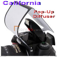 Pop Up Flash Diffuser Canon Nikon Pentax soft Screen DSLR Camera EOS Universal With Tracking Number