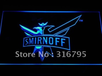 a195-b Smirnoff Vodka Wine Beer Bar Neon Light Sign Wholesale Dropshipping
