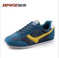 2013 spring new arrival low male sport shoes running shoes light shells shoes agam shoes