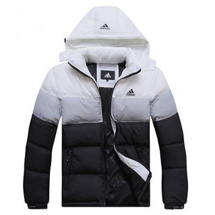 2013 winter white down jacket fashion sport outwear for men warmth brand coat men free shipping(China (Mainland))