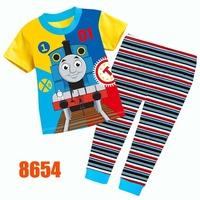 Girls Minnie Clothing Set Kids Autumn -Summer Pajamas Sets New 2014 Wholesale Children Short-Sleeve Pijamas 8159