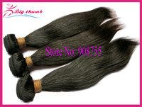 Luffy Hair 3pcs lot Unprocessed Brazilian virgin hair Natural Straight, 5A grade 100% human hair, can color and bleach,