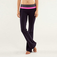 The new brand women Lululemon yoga pants top quality casual sportswear and comfortable leggings, free shipping
