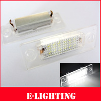 2X 18SMD Rear LED Number License Plate Light for VW Touran 1T SKODA Superb 1 3U B5