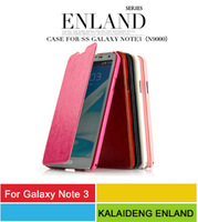Note 3 Luxury Leather Case,Kalaideng Enland Series Ultra Slim PU Leather Flip Cover Case For Samsung Galaxy Note3 N9000 10pcs/l