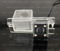 Car Camera Car Rear View Camera With 4 LED HD CCD Camera For SsangYong Rexton 2 / Kyron / Actyon 2013 / Korando