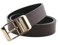 New Arrival Men's Leather Belt Fashion Belt Buckle Wild Leather Belts Cowskin  Free Shjipping