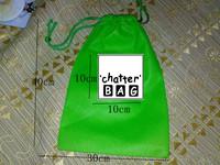 Custom waterproof drawstring bags generous bags