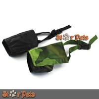 Black/Camouflage Grooming Nylon Dog Pet Muzzle No Bite Barking Adjustable 7 Size