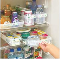Kitchen refrigerator storage box set food storage basket drawer type beer box