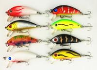 50mm Fishing bait 5CM 3.6G 10#hooks fishing tackle lure for trout Classical Minnow bass hard Plastic japan carbon hooks 16pcs