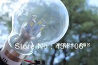 NEW 5W 10pcs LEDs E27 AC85-265V warm white Glass design LED Bulb light LED Lamps LED spot Lights