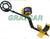 MD-3010II Hot selling underground metal detector LCD with light display 2 Colors Yellow Black free shipping