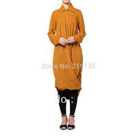 Brand KYLE & JANE 2014 New Original Dubai Muslim Crystal Hemp plus sizes robes KJ-ALY036 Free shipping