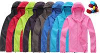 Outdoor Skin Jacket Coat Women Outdoors Jackets For Woman Men Motorcycle Jaqueta New 2014 Spring Sun Protection Thin light Coats