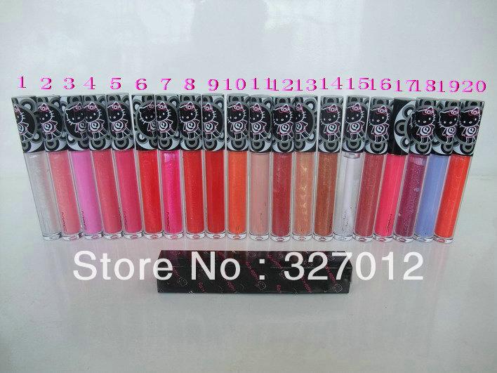 New hello kitty lipgloss lip glass!! Free Shipping!!20pcs/lot(China (Mainland))