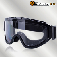 Super High Definition fog safety glasses anti-shock anti-dust sand laboratory Industrial Riding glasses goggles sponge seal