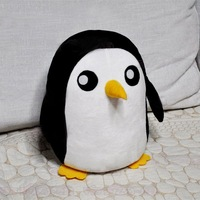 Super Soft Handmade Plush Toys of Adventure Time  Penguin for Ice King Kids Animal Plush 11""