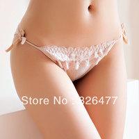 Hot Sales 6 pcs / Lot sexy shorts women women's low waist lace G string female Temptation Modal bottom pants underwear women