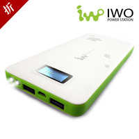 ultrathin Iwo p42 mobile phone charge general mobile power bank 13200 MAH Portable move power supply