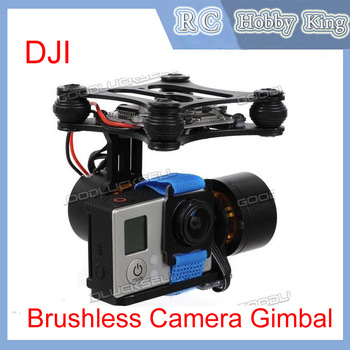 DJI Phantom Gopro 2 3 Metal Brushless Camera Gimbal w/Motors & Controller RTF parts accessories camera mounts FPV Free shipping