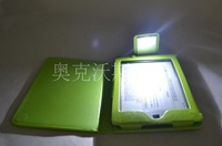 2014 hot case kindle touch case with led light cases for kindle,lamp protective case ,big promotional now